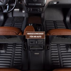 XMATS Premium Leder Automatten Set für VW GOLF 7 ab 2012